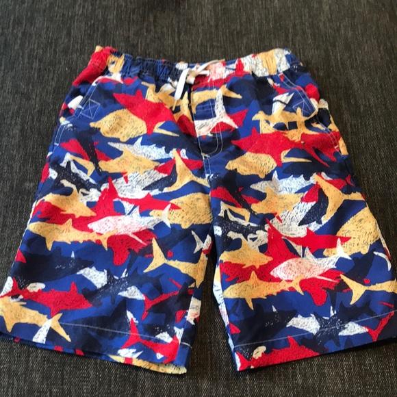 b5b24bfda0 Hanna Andersson Swim | Sale Boys Shark Board Shorts | Poshmark